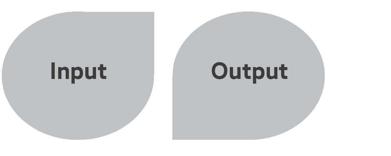 Børn med flere sprog - input output modellen